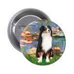 Aussie Shep 2 - Garden Badges
