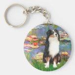 Aussie Shep 2 - Garden Key Chain