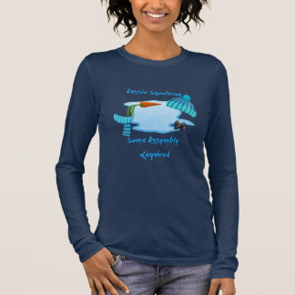 Aussie Snowman Long Sleeve T-Shirt