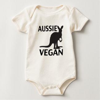 Aussie Vegan Baby Bodysuit