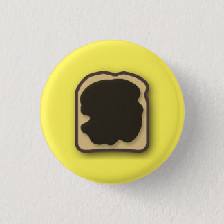 Aussie Yeast Extract on Toast 3 Cm Round Badge