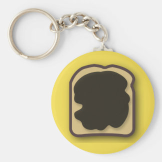 Aussie Yeast Extract on Toast Key Ring