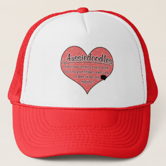 Aussiedoodle Paw Prints Dog Humor Trucker Hat