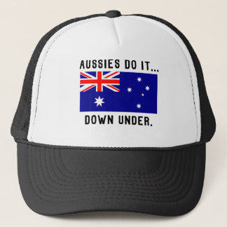Aussies Do It... Down Under. Trucker Hat