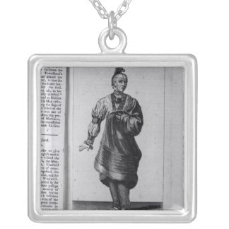 Austenaco, Great Warrior Silver Plated Necklace
