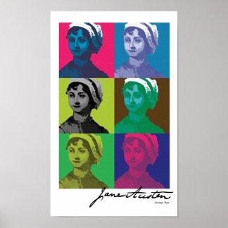 AustenPop -- Jane Austen style Posters