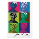 AustenPop -- Jane Austen, Warhol style Card