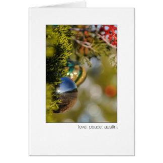 Austin 360 Loop Christmas Cedar Tree Card