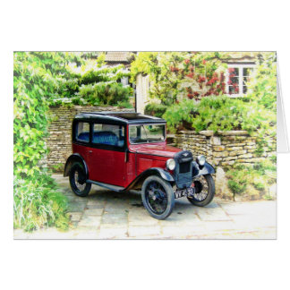 Austin 7 greeting Card