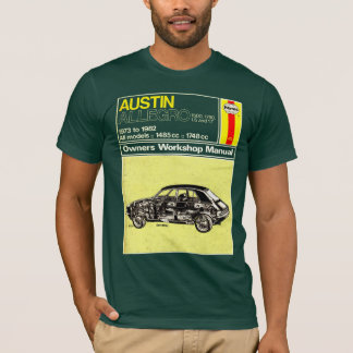 Austin Allegro Owners Manual T-Shirt