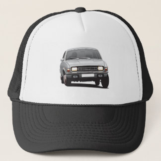 Austin Allegro UK silver gray Trucker Hat