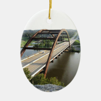 Austin Bridge Christmas Ornament