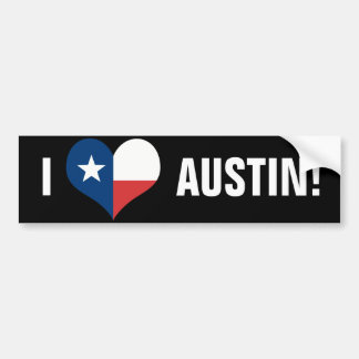 Austin Bumper Sticker