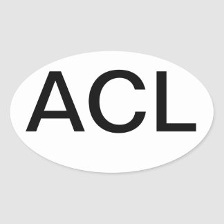 Austin City Limits Euro Oval Sticker