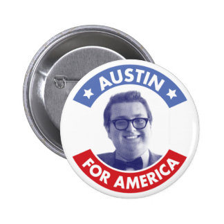 Austin For America (Classic) Button