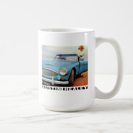 Austin Healey 3000 advert Coffee Mug