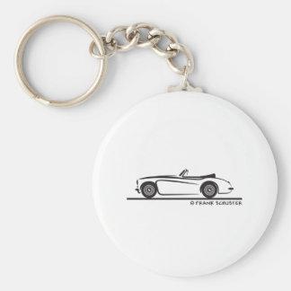 Austin Healey  3000 MK II Key Ring
