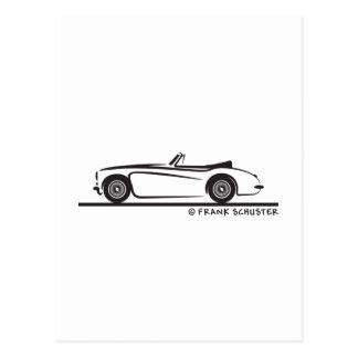 Austin Healey  3000 MK II Postcard