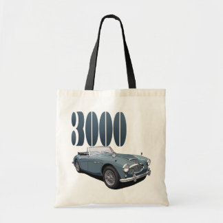 Austin Healey 3000 Tote Bag