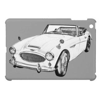 Austin Healey 300 Sports Car Illustration Case For The iPad Mini