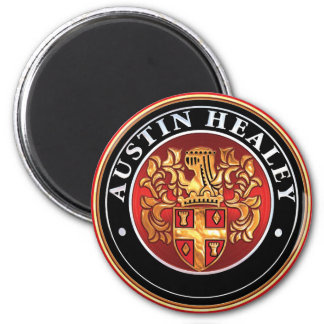 austin Healey Badge 6 Cm Round Magnet