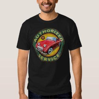 Austin Healey Bugeye sprite service sign Tee Shirt