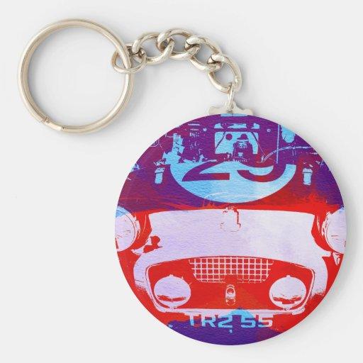Austin Healey Frogeye Sprite Keychains