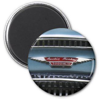 Austin-Healey 6 Cm Round Magnet