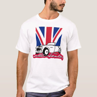 Austin-Healey Union Jack script T-Shirt