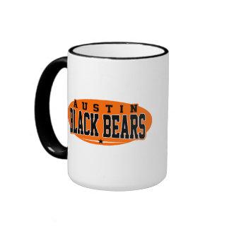 Austin High School; Black Bears Ringer Mug