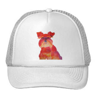 Austin in Red Mesh Hat