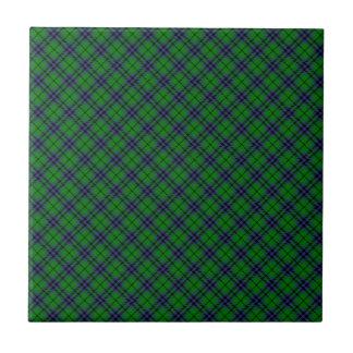 Austin / Keith Clan Tartan Designed Print Tile