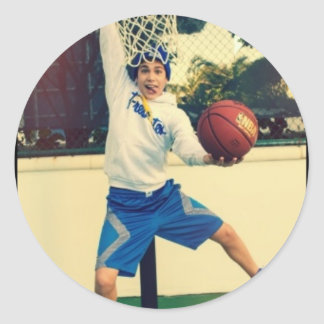 Austin Mahone Ball Insane ! Round Sticker