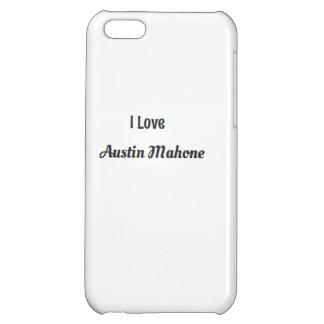Austin Mahone Cover For iPhone 5C