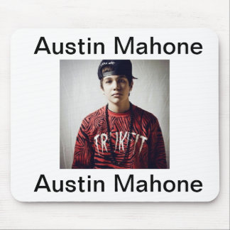 Austin Mahone mouse pad