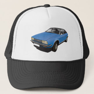 Austin Morris Princess ADO71 70's automobile blue Trucker Hat