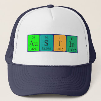 Austin periodic table name hat