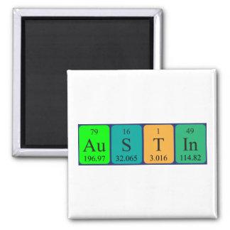 Austin periodic table name magnet