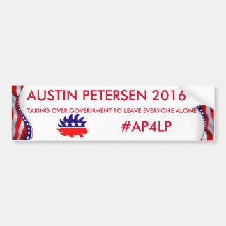 AUSTIN PETERSEN 2016 BUMPER STICKER