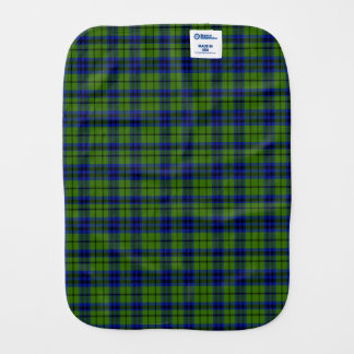 Austin Scottish Family Tartan Burp Cloth