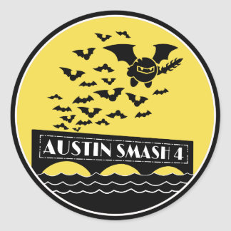 Austin Smash 4 Large Stickers