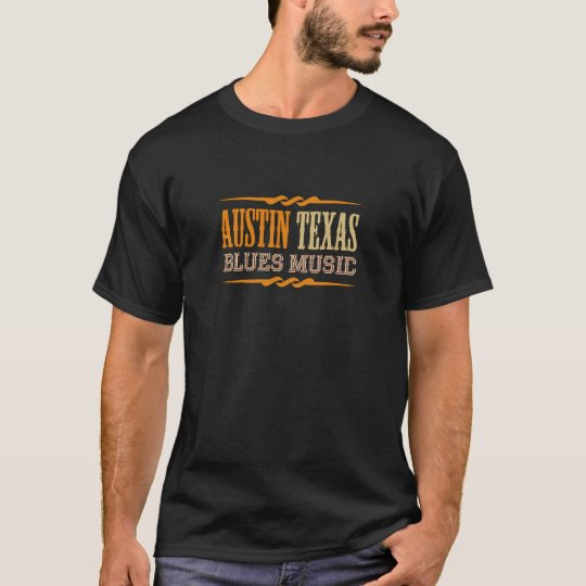 Austin Texas Blues Music T-Shirt