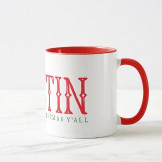 Austin Texas Christmas Tree Coffee Mug