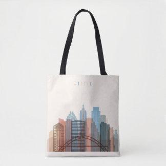 Austin, Texas | City Skyline Tote Bag
