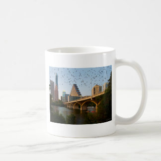 Austin, Texas Congress Bridge Bats Coffee Mug