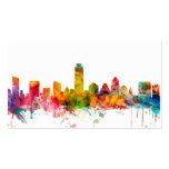 Austin Texas Skyline Business Card Template