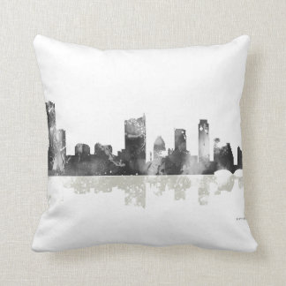 Austin Texas Skyline Cushion