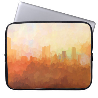 AUSTIN, TEXAS SKYLINE-In the Clouds-Laptop cover