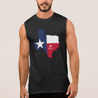 Austin, Texas Sleeveless T-shirts