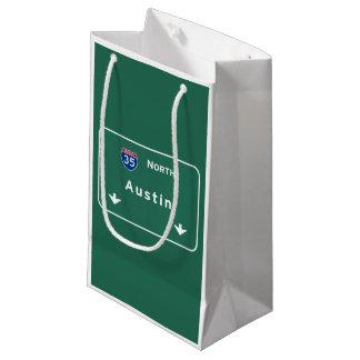 Austin Texas tx Interstate Highway Freeway Road : Small Gift Bag